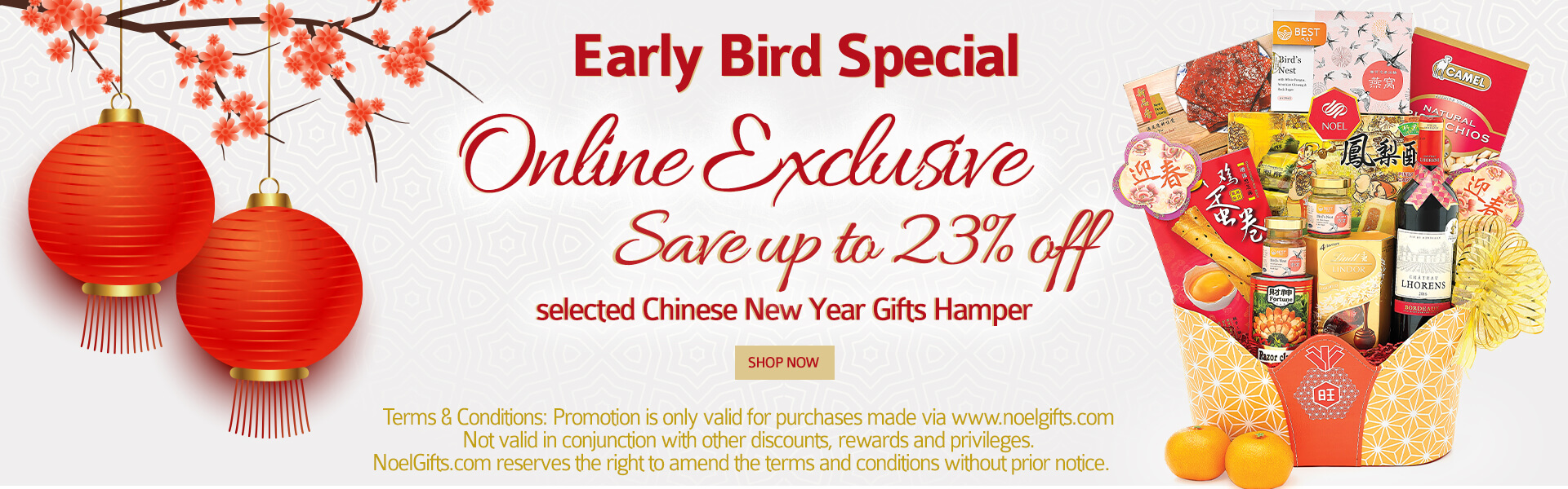 Chinese New Year Online Exclusive Promotion
