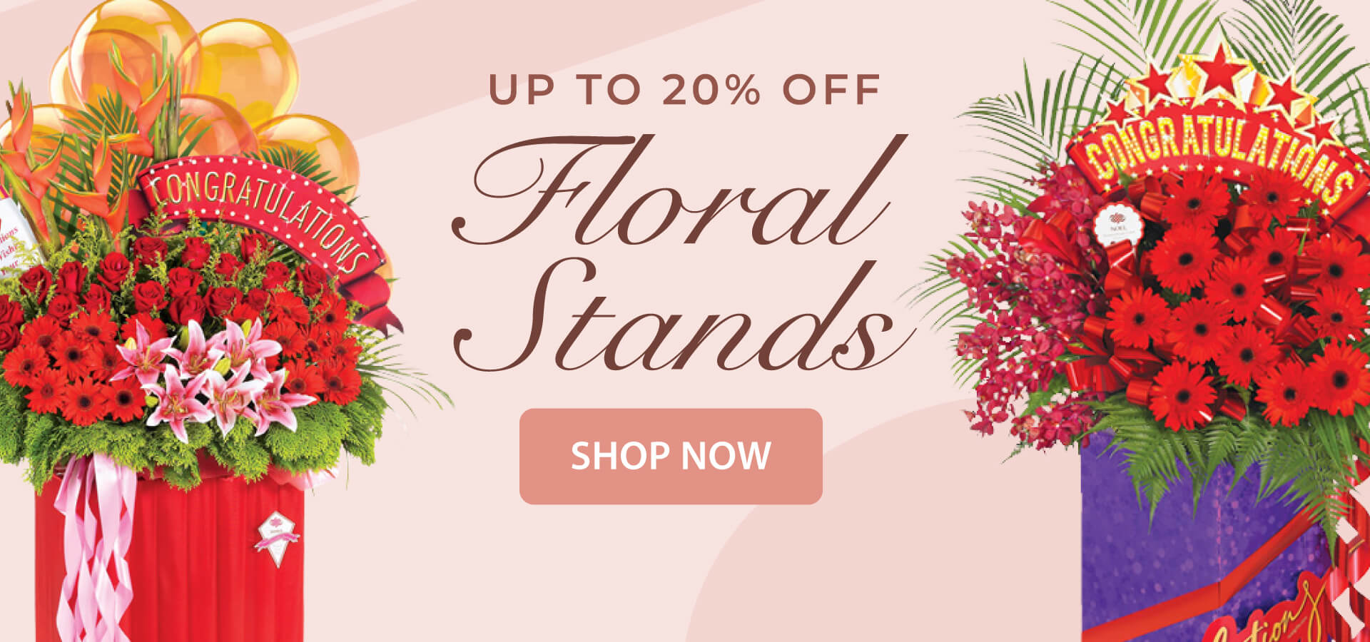 Congratulatory Flowers Stand Singapore