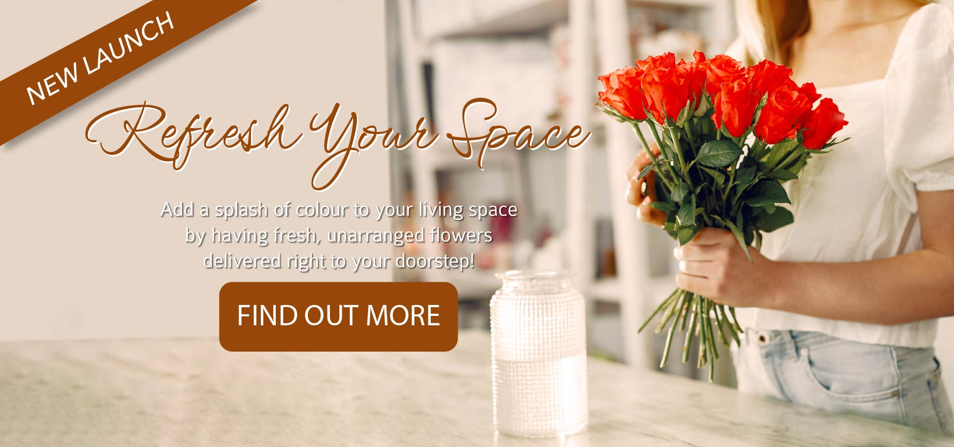 Refresh Your Space With Flowers