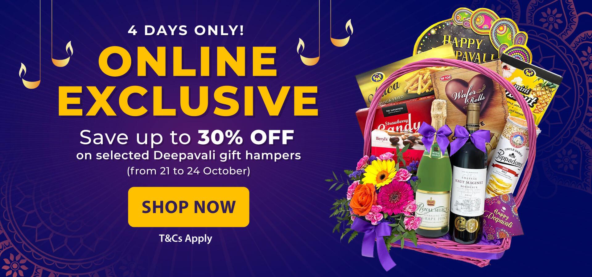 Deepavali 2021 Online Exclusive Gift Hampers