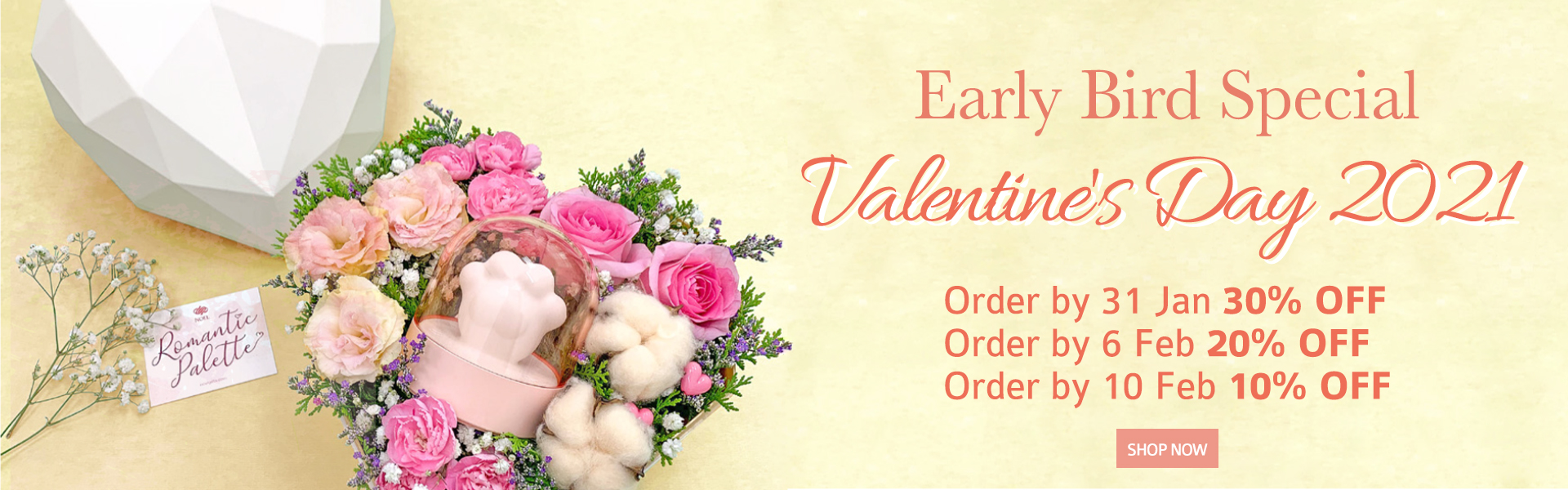 Valentines Day EBB Sale